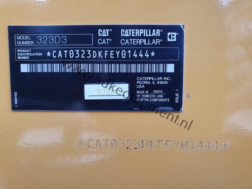 CAT 323D3 SDKequipment (57)